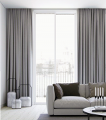 Harlow long drop curtains