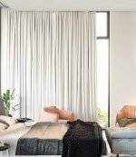 Montana pencil pleat curtains