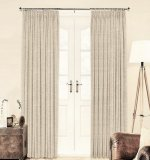 Linen House long drop curtains
