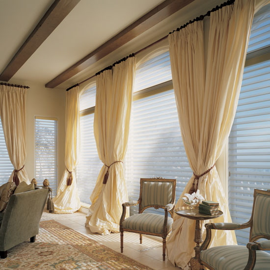 Pure Silk curtains